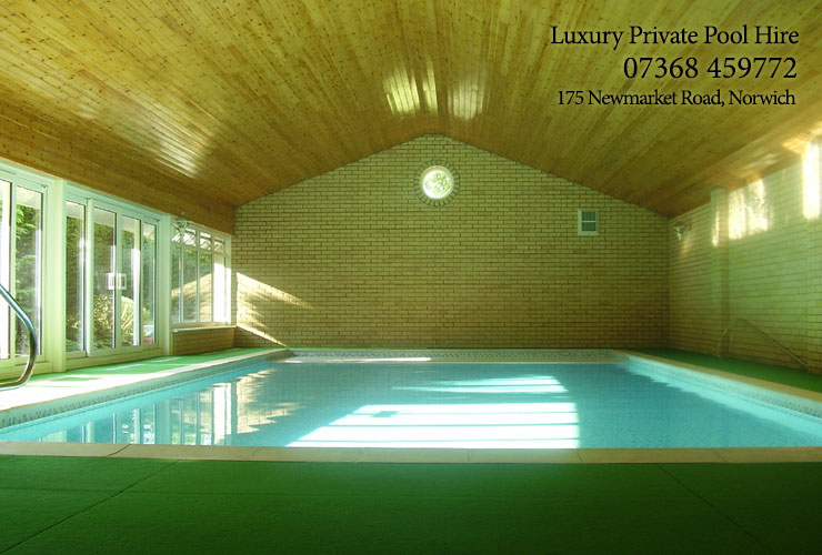 Private Pool for hire in Norwich